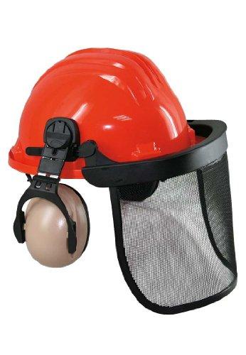 Schutzhelm für Forstarbeiter mit Gehör- und Gesichtsschutz, ONESIZE