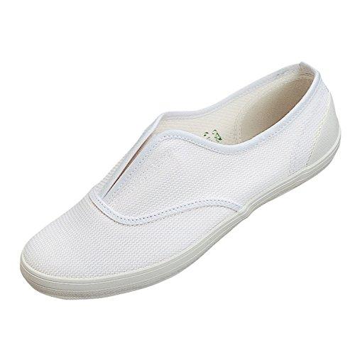 ムーンスター スクールエース3型 上履き 上靴 室内履き 体育館シューズ 21-30cm (24.0, ホワイト)