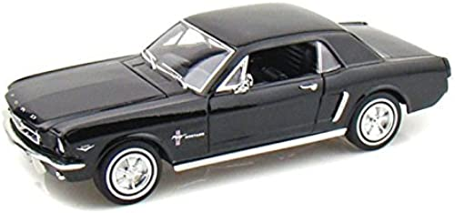 1964 1 2 Ford Mustang Coupe 1 24 - schwarz