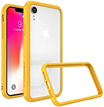 RhinoShield Ultra Protective Bumper Case for [ iPhone XR ] CrashGuard NX, Military Grade Drop Protection for Full Impact, Slim, Scratch Resistant, Yellow