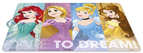 ALMACENESADAN 0424, Mantel Individual Disney Princesas; Dimensiones 43x29 cms; Producto de plástico; Libre bpa.