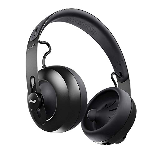 Nura Wireless Headphones for Automatically Learn and Adapt (Black)