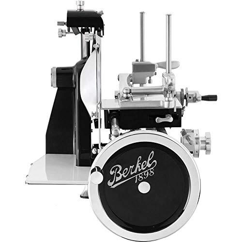 Berkel Volano B2 handbetriebene Aufschnittmaschine mit Volles Schwungrad und Messerdurchmesser 265 mm Schwarz