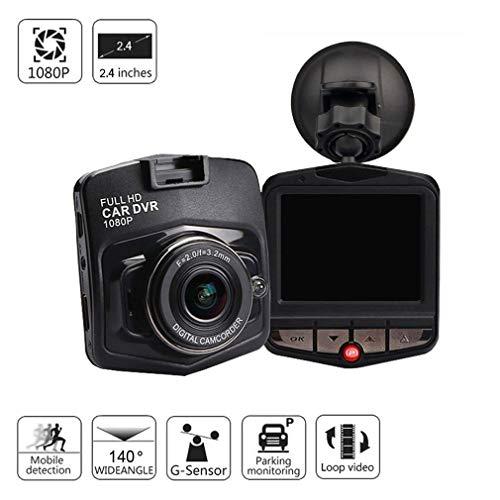Grewtech Ga10. de Voiture Dash Cam DVR Caméra de Tableau de Bord – 6,1 cm Full HD 1080p H.264, Grand Angle, Vision de Nuit, détection de gravité, DE Crash, Moniteur de stationnement, mémoire DE 32 Go