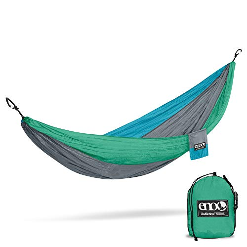 ENO, Eagles Nest Outfitters DoubleNest Lightweight Camping Hammock, 1 to 2 Person, Special Edition Colors, PCT