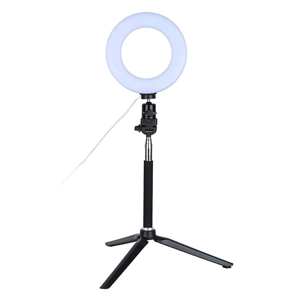 Ring Fill Light, Easy To Set 6 inch Makeup LED Lights With Tripod Stand, ABS+PC Material Fill-in Lamp For Live streaming, Tattoo, Filming, Nail Art Etc
