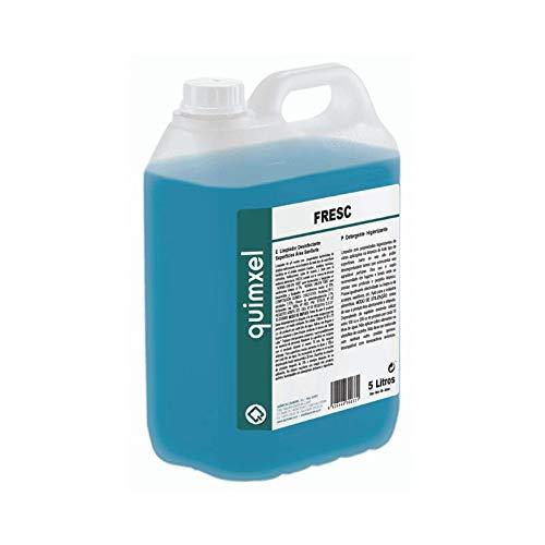 Quimxel Limpiador desinfectante superficies área sanitaria 5 litros