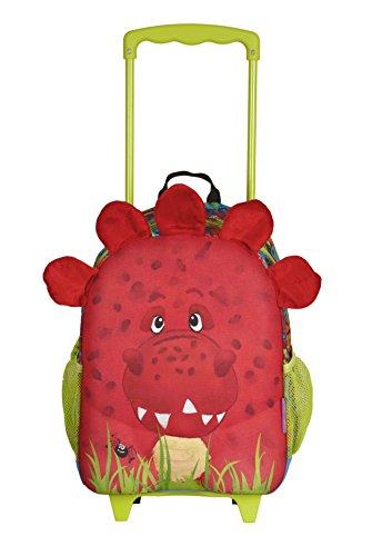 Wildpack Junior okiedog Trolley (M) Rosso Dinosauro