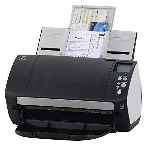 Fujitsu Document Scanner - Duplex - 8.5 in x 14 in - 600 dpi x 600 dpi - up to 60 ppm (Mono) / up to 60 ppm (Color) - ADF (80 Sheets) - up to 4000 scans per Day - USB 3.0