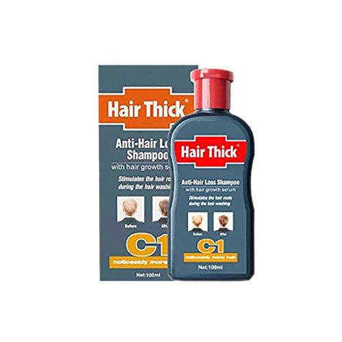 Anti-Hair Loss Shampoo, KISSION Hair Growth Serum Oil Control Anti-Relieve Itching Dandruff Hair Re-growth Treatment for Men & Women (100ml)
