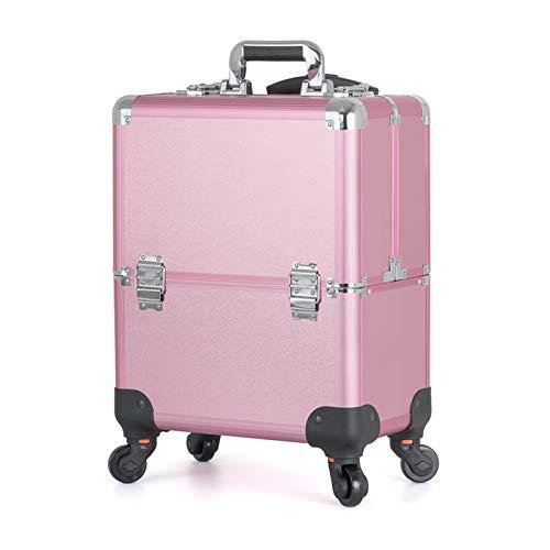 ACEWD Werkzeugkoffer Präsentationskoffer Etagenkoffer Beauty Case Schminkkoffer...