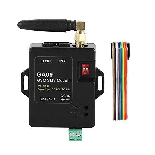 Lazmin Sistema de Alarma SMS, DC5V Mini 8 Canales Sistema de Alarma gsm de Seguridad para el hogar, Compatible con Alarma SMS, Alarma de Llamada telefónica