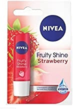 NIVEA FRUITY SHINE STRAWBERRY LIP BALM.