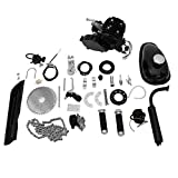 Kuhxz 80cc Bicycle Engine Kit Bicycle Motor Kits Motor Kit for Bike Bike Motor Bike Engine Kit Motorized Bike Kit 80cc 2 Stroke Bike Kit Engine Kit Bicycle Gas Bicycle Motorized Bike Motor Kit