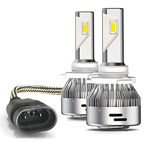 LASFIT 9005 HB3 LED Bulbs 60W 6000LM 6000K White Adjustable Beam Plug&Play