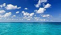 QUSXFH 青い空の下の海のパターン-パズルジグソーパズル大人のための1000ピースパズル3Dクラシックパズルモダンアート家の装飾ユニークなギフト(75X50Cm)ジグソー