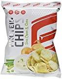 GOT7 High Protein Chips Snack 40% Protein Fitnesssnack – Ideal Zur Diät Fitness Bodybuilding 6x 50g (Sour Cream & Onion)