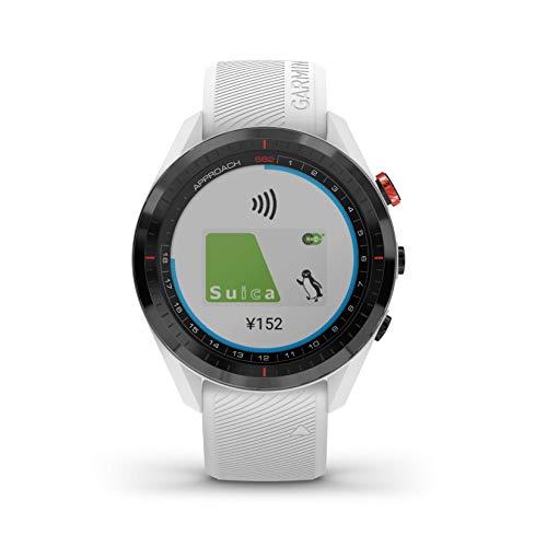 GARMIN(ガーミン) ゴルフナビ GPS Approach S62 ホワイト【日本正規品】 010-02200-21