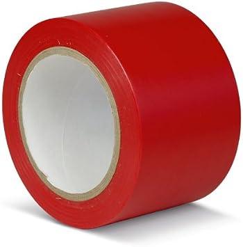 Cinta adhesiva para Marcar Suelo, estándar, rojo, KMSR07533: Amazon.es: Bricolaje y herramientas