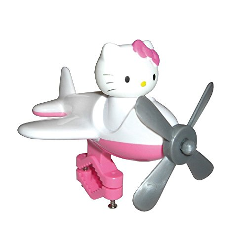 Bike Fashion Bambini Hello Kitty Manubrio Aviatore, Bianco, 2 x 2 x 2 cm