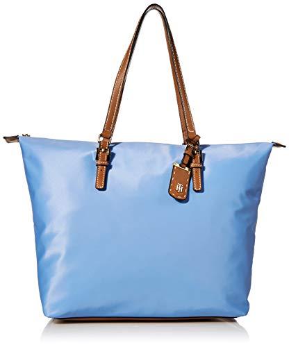 Tommy Hilfiger Tote Bag for Women Julia, Light Iris Blue