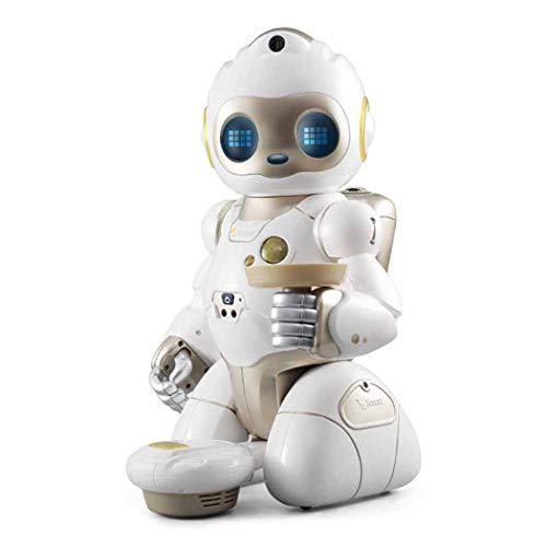 WJHH Kinder, die Roboter Smart Conversation Ferngesteuerter Staubsauger mit Programmierfunktion begleiten
