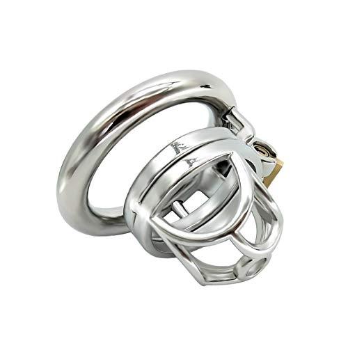 We- Hypoallergenic Chās-tity Dëvî-cë Cȁgë Suitable for Any Size of Men, Male Hollow Briefs Underwear (Size : 40mm snap Ring)