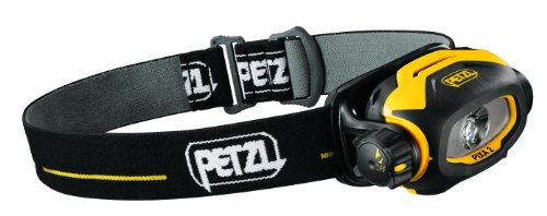 Petzl PIXA 2 - Linterna (Cinta, Negro, Amarillo, IP67, 40 LM, AA...