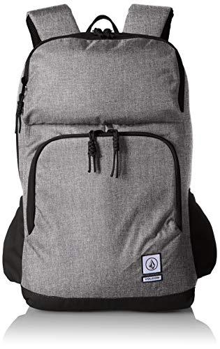 Volcom - Roamer Backpack, Mochilas Hombre, Gris (Black Grey), 32x47x16 cm (B x H T)