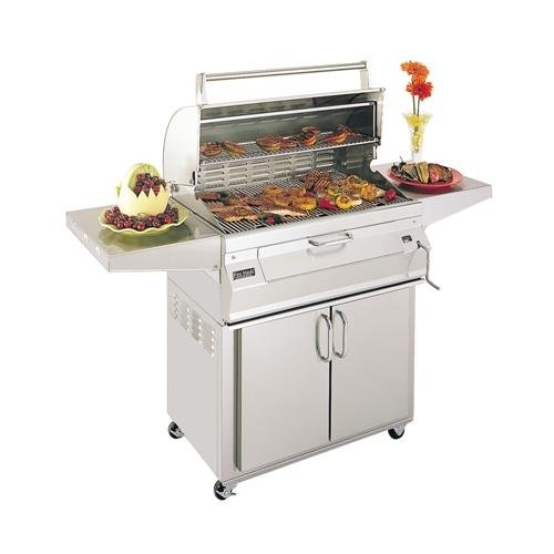 Review Of FireMagic 24SC01C61 Regal 1 32 Portable Charcoal Grill with Stainless Steel Construction ...