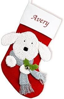 GiftsForYouNow Dog Personalized Christmas Stocking, 19
