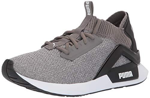 PUMA Men's Rogue Sneaker, charcoalgray-Black, 9.5 M US