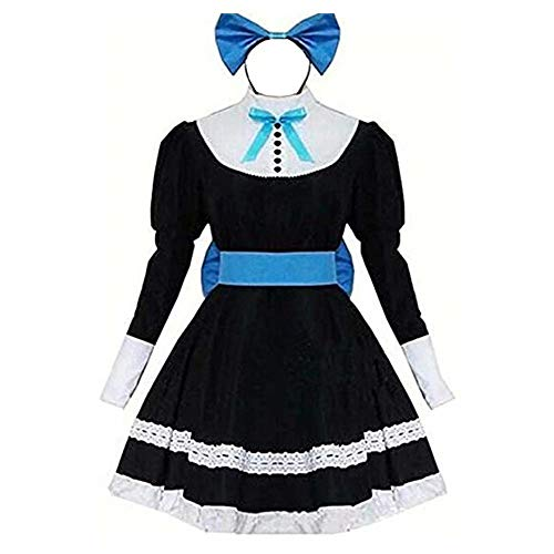 LuBHnna Panty & Stocking with Garterbelt Stocking Anarchy Cosplay Lolita Maid Dress Halloween Party Uniform