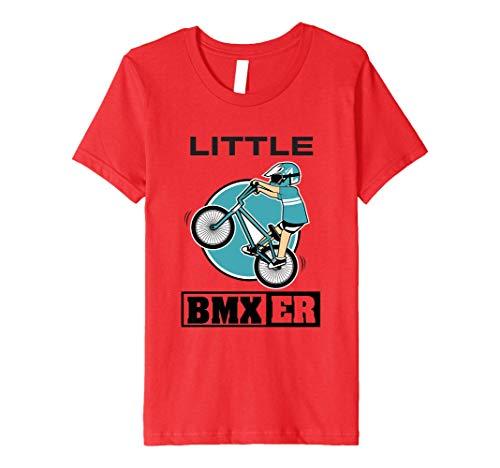 Kids BMX T-Shirt - Boys Girls Little BMXer Cycling Tee
