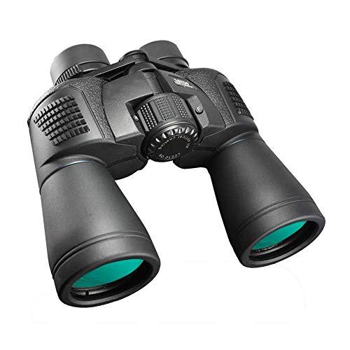 CCLLA Binoculares 20x50, binoculares compactos para Exteriores para Adultos, niños, con visión Nocturna Clara y débil, Adecuado para Deportes al Aire Libre y observación de Aves en conciertos