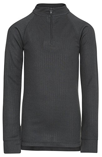 Trespass - Running Kompressions-T-Shirts für Jungen in Schwarz, Größe Size 9/10