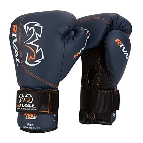 Rival Ultra Bag Gloves, Black, 12-Ounce