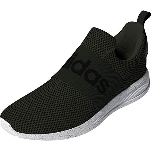 adidas Men's Lite Racer Adapt 4.0 Running Shoes, Legend Earth/Black/White, 10