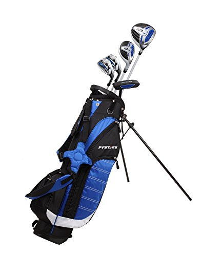 Precise XD-J Junior Complete Golf Club Set for Children Kids - 3 Age Groups Boys & Girls - Right Hand & Left Hand! (Blue Ages 9-12, Right Hand)
