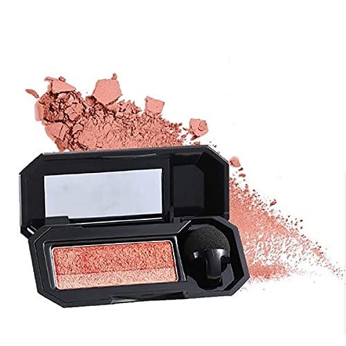 Dual-Color Eyeshadow, Makeup Palette with Brushes, Waterproof Eyeshadow Highly Pigmented Eyeshadow,Long-Lasting Eyeshadow Palette, 3D Effect Matte Glitter (#2)
