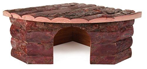 Trixie 62043 Natural Living Eckhaus Jesper, 42 × 15 × 30/30 cm