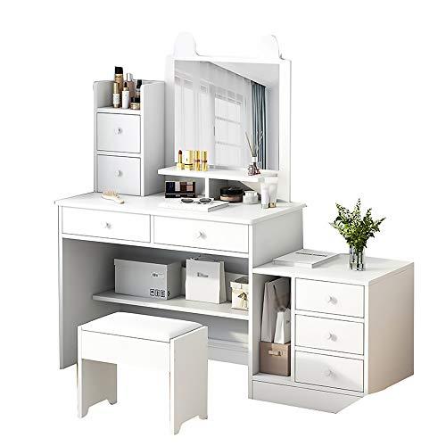 AMY-XCQ Peluquería pequeño apartamento Muebles de Cama multifuncionales,B,Right