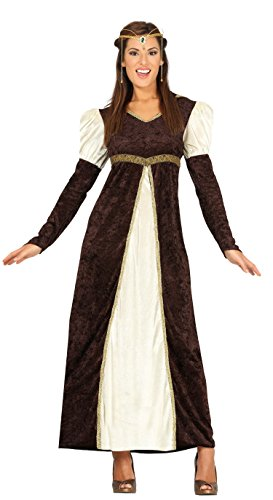 Guirca- Disfraz adulta princesa, Talla 38-40 (88197.0)