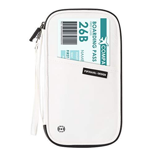 RFID Blocking Passport Wallet – EveryEzy Family Passport Wallet Waterproof Tyvek Material PT1906 - White