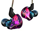 Easy KZ ZST Colorful Hybrid Banlance Armature with Dynamic in-Ear Earphone 1BA+1DD HiFi Headset (Colorful ZST Nomic)