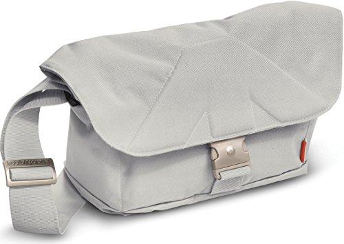 Manfrotto Allegra 15W Messenger - Bolsa para cámaras CSC (22 cm x 35 cm x 15 cm), Blanco
