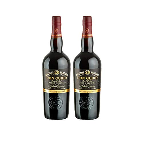 Vino Pedro Ximenez Don Guido 20 años de 75 cl - D.O. Jerez-Sherry - Bodegas Williams & Humbert (Pack de 2 botellas)