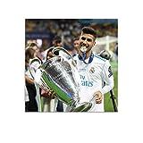 Póster de la Liga de Campeones de Marco Asensio, 60 x 60 cm
