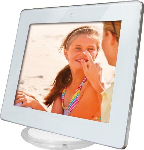 Rollei Designline 3080 Digitaler Bilderrahmen (20 cm (8 Zoll) Display, 4:3, Video/MP3 Funktion) weiß