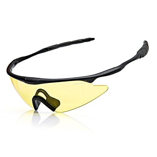 QMFIVE Tactical X100, Airsoft X100 Winddicht Staubdicht Schutz Tactical Goggles Motorrad Gläser Transparent Objektiv für die Jagd Radfahren Skifahren Tactical Outdoor-Sport